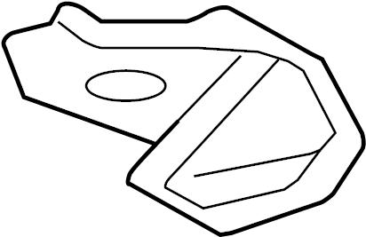 Mercury Milan Bracket. Steering. Lever. Transmission
