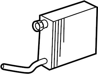 Mercury Grand Marquis A/c evaporator core. Air
