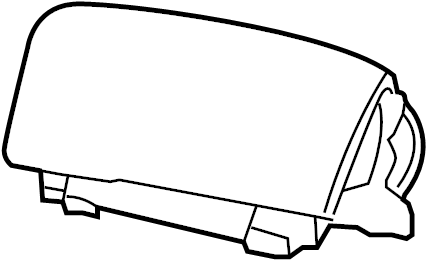 Mercury Grand Marquis Instrument Panel Air Bag. Inflator