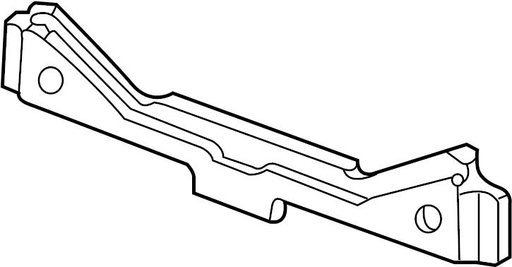 Mercury Grand Marquis Rear Body Reinforcement (Rear, Lower