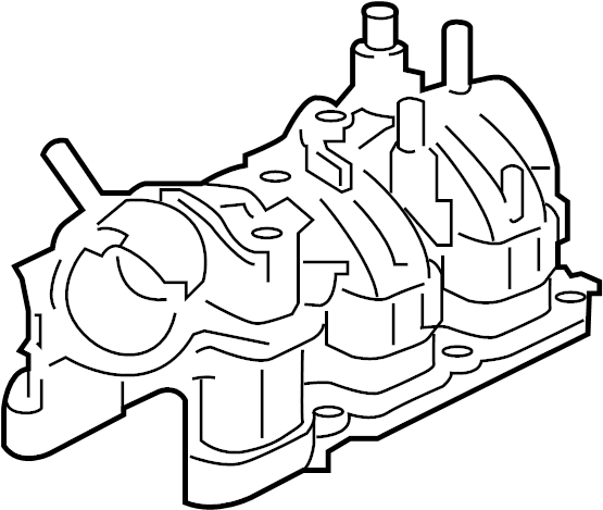Lincoln Continental Engine Intake Manifold. LITER, Gaskets