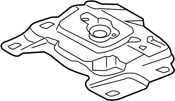 Ford Focus Mount. TRANSMISSION. 1.6 LITER. 2.0 LITER. 2.0