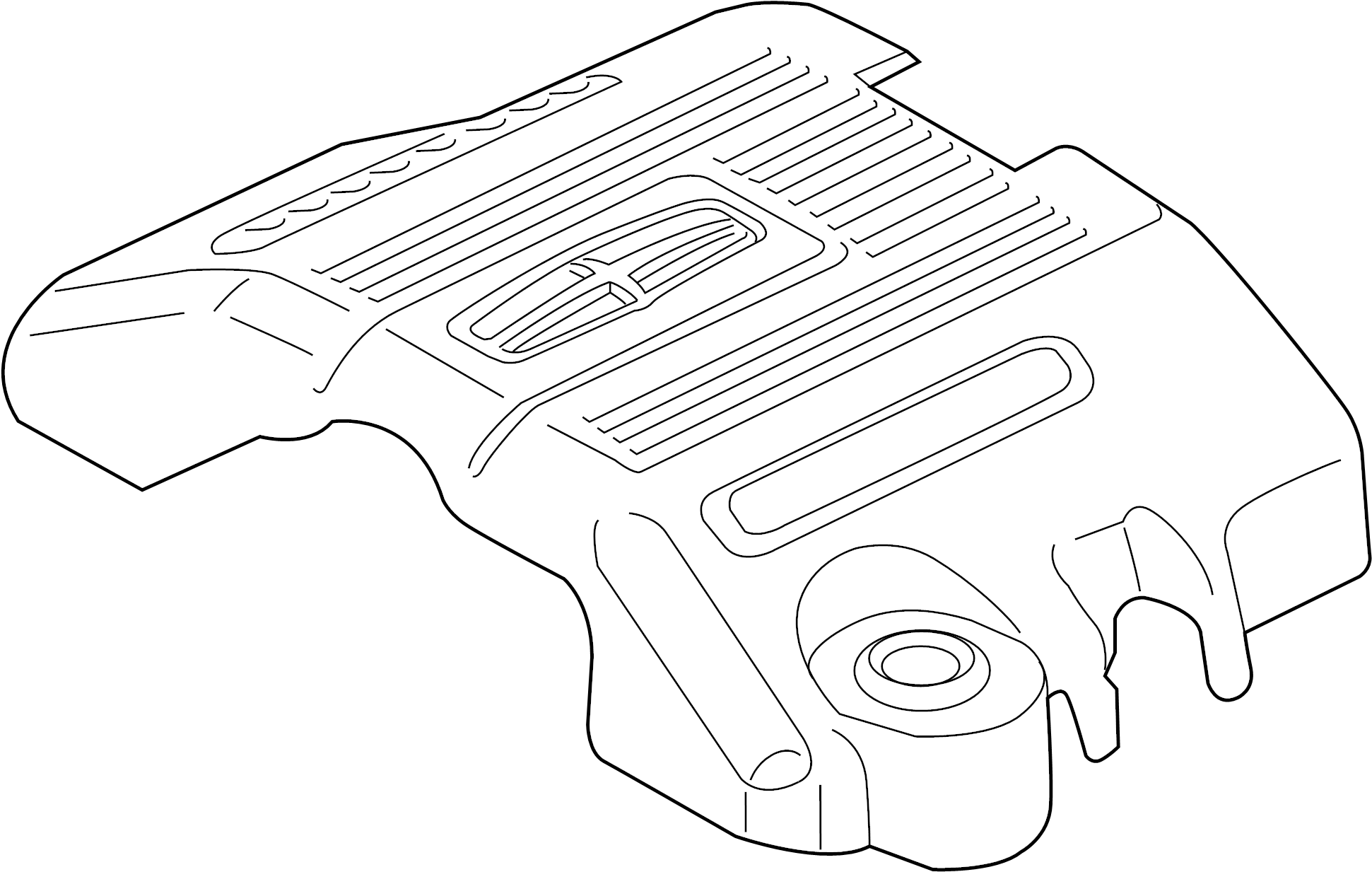 Ford F-150 Engine Cover. 3.5 LITER. 3.5 LITER W/TURBO