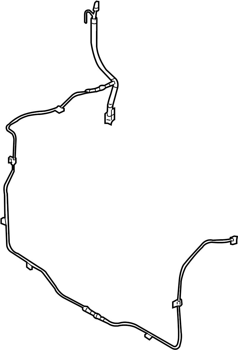 Lincoln Navigator Tube. Vacuum. Hose. Line. 4WD. 4WD