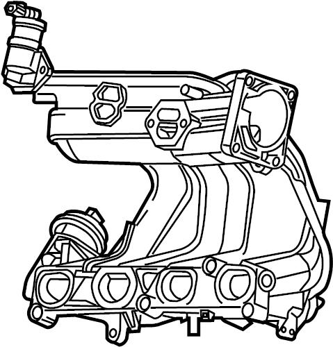 Ford Ranger Engine Intake Manifold. 2.3 LITER. Ranger; 2