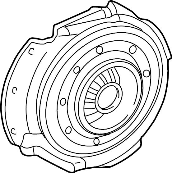 Mercury Mystique Clutch Pressure Plate. Plate Assembly