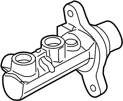 Ford Explorer Brake Master Cylinder. Brake Master Cylinder