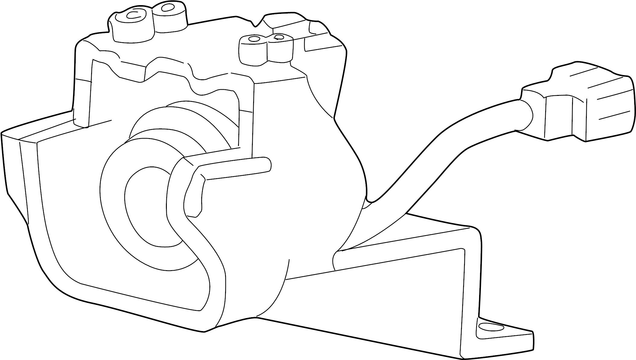 Ford Explorer Fog Light (Front). Explorer; w/o Limited