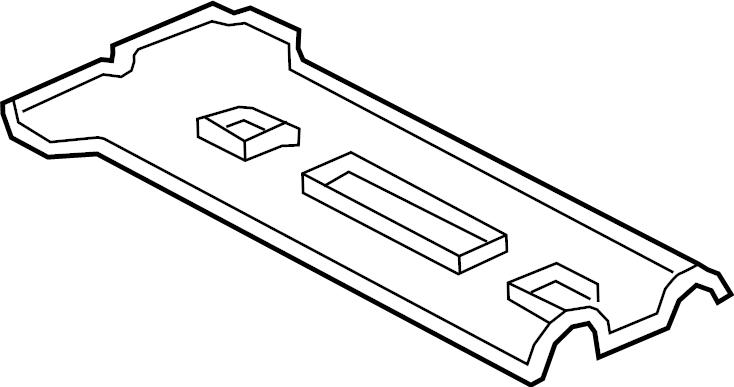 Ford Escape Engine Valve Cover Gasket. 2.0 LITER. 2.3