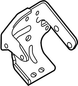 Ford Escape Cv axle shaft carrier bearing bracket. 2.5