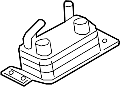 Ford Escape Automatic Transmission Oil Cooler. 1.5 LITER
