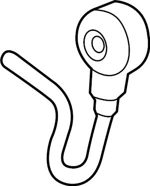 Ford Explorer Ignition Knock (Detonation) Sensor. Sensor