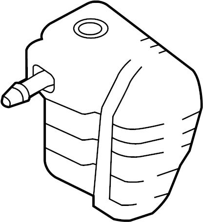 Mercury Mariner Engine Air Intake Resonator. # 1. 2.5