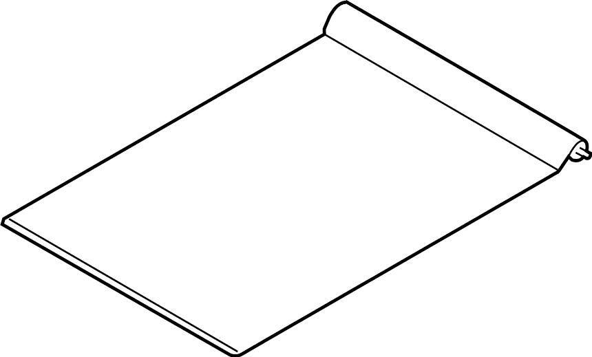 Ford F-350 Super Duty Sunroof Cover. CREW CAB, java