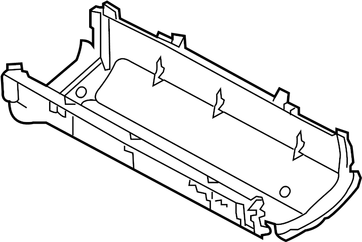 Ford F-150 Cover. Panel. (Lower). ENGINE COMPARTMENT. FUSE