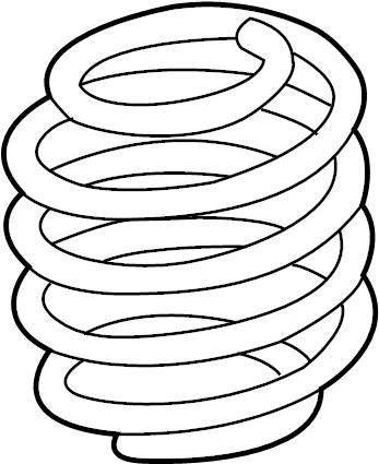 Lincoln MKX Coil Spring (Front). SUSPENSION, Code, Springs