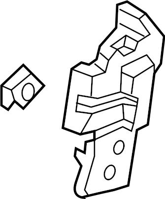 Lincoln MKX Body C-Pillar Trim Panel (Rear, Upper