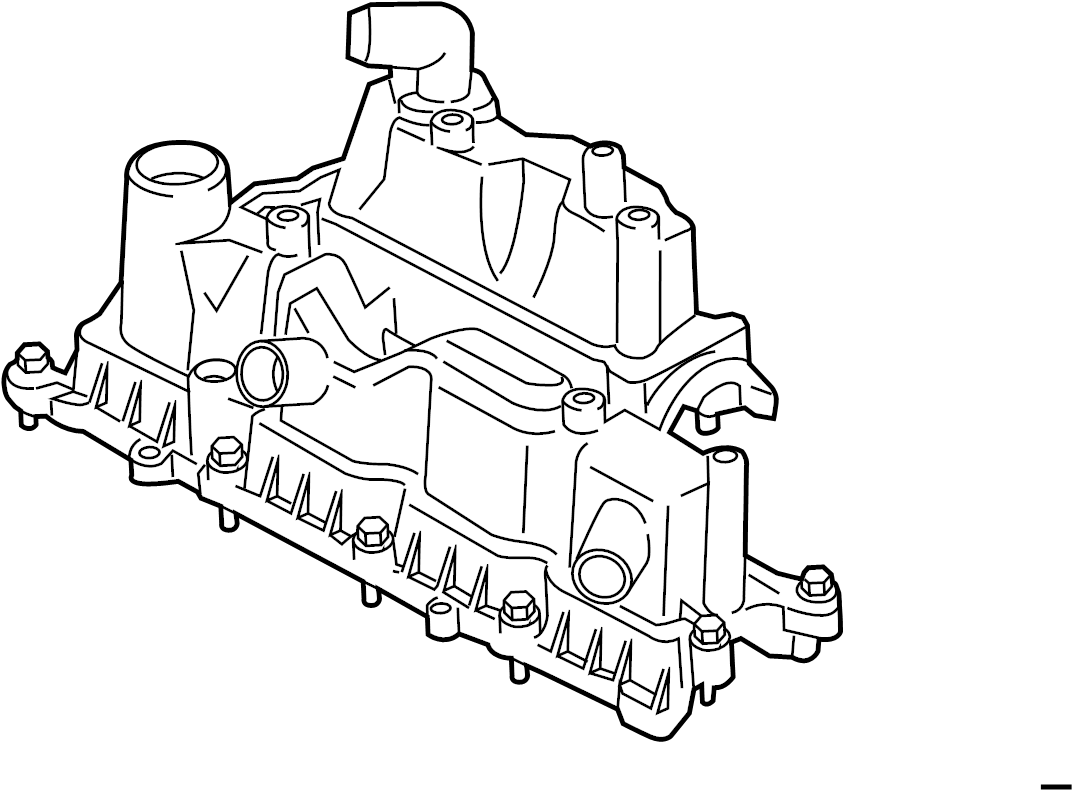 Ford Fiesta Engine Valve Cover Liter Head Gasket