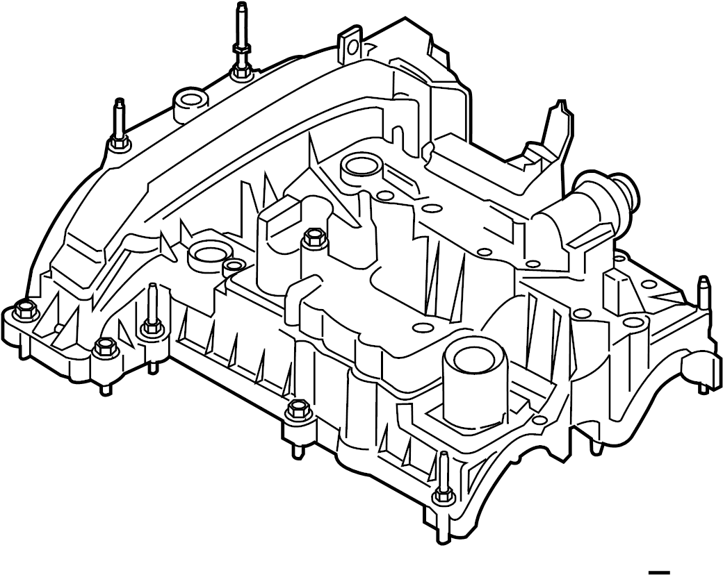 Ford Focus Engine Valve Cover. 1.0 LITER. Ecosport. Fiesta