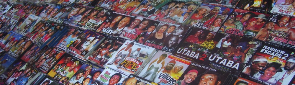 A roadside stall in Nigeria sells a selection of the thousands of Nollywood films released annually. Director and producer Elvon Jarrett speaks to The Foreign Report [Koréboy]