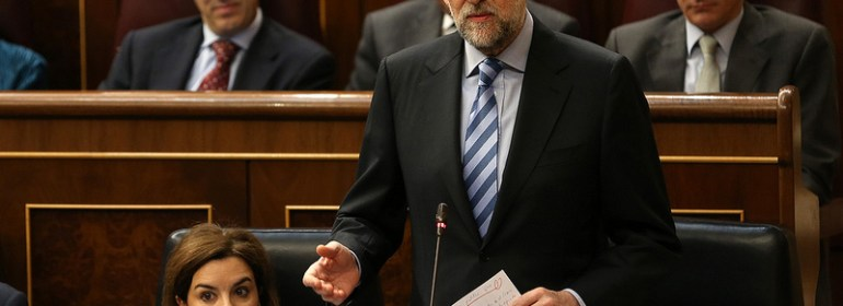 Mariano Rajoy addresses congress on corruption in Spain