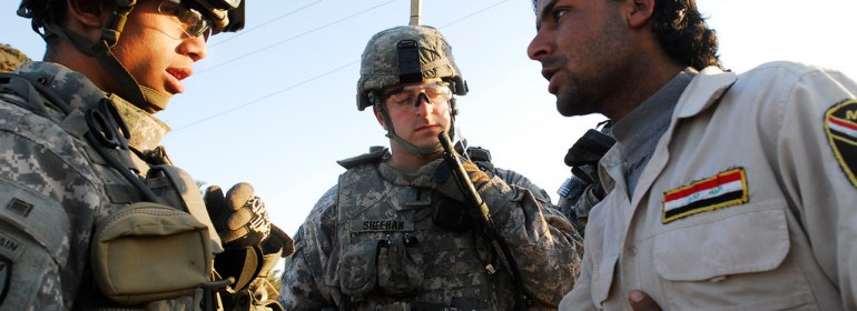 Translators have played a vital role in the US operations in Iraq.