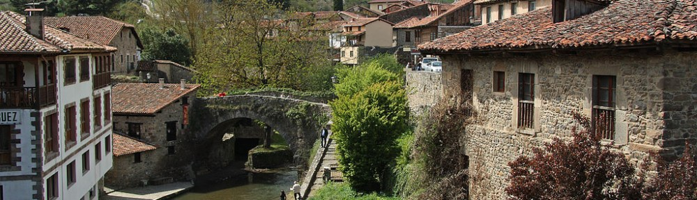 Potes is surrounded by mountains and forests, and is a very popular base for walkers.