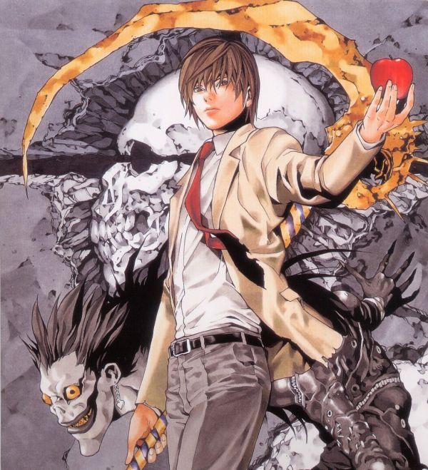 Death Note Manga Art