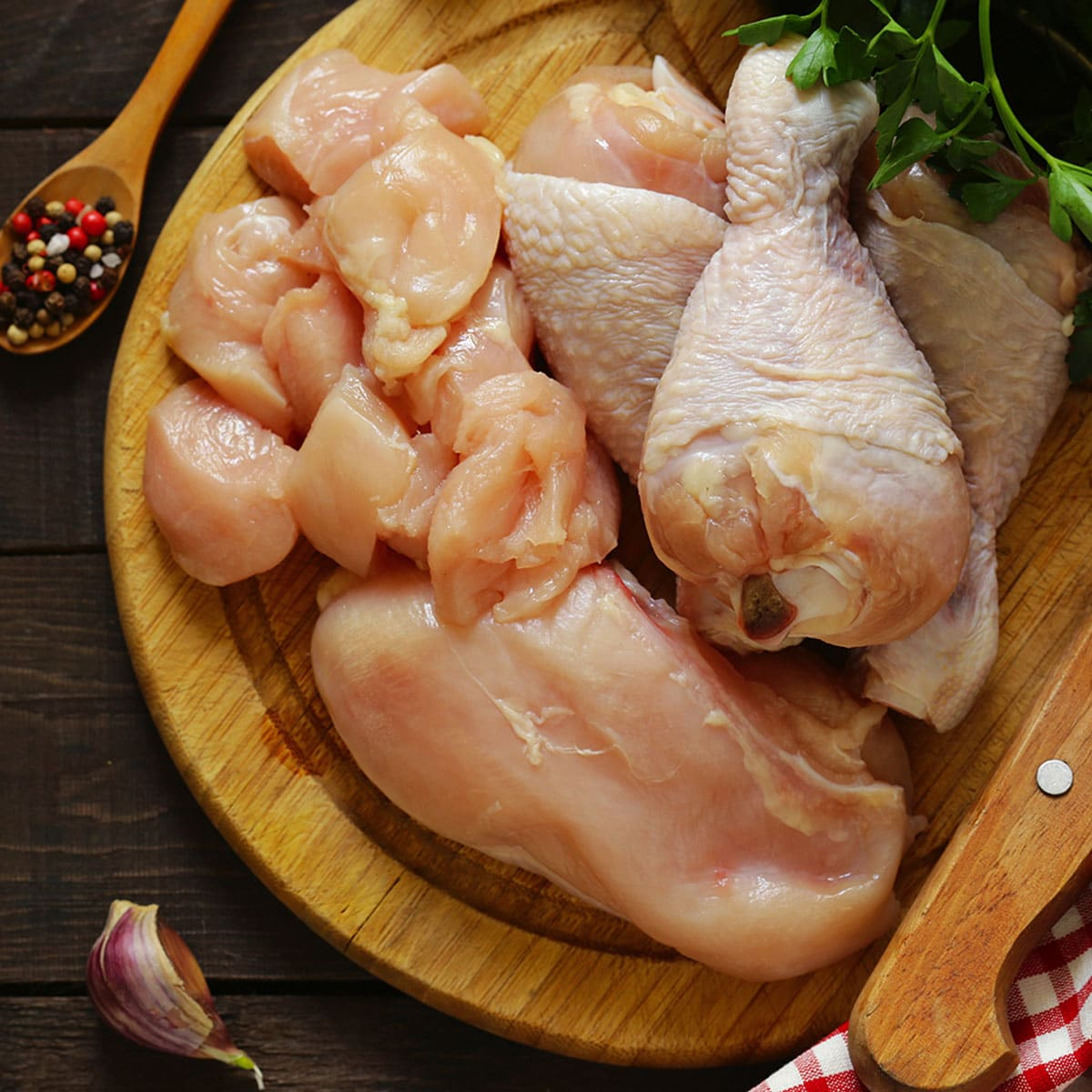 How Long Can Raw Cooked Chicken Sit Out   The Fork Bite