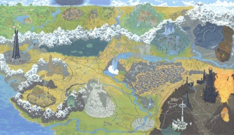 path of lord of the rings Andrew DeGraff