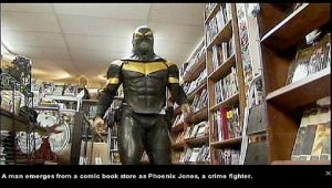 Phoenix Jones superhero
