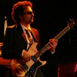 Gabriel Roth,a Riverside native and bassist for Sharon Jones and the Dap-Kings, performs in Solana Beach at the Belly Up Tavern on June 27, 2010.  (Vanessa Franko)