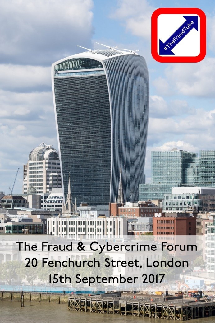 Register Now for The Fraud & Cybercrime Forum // 15th September 2017 // London