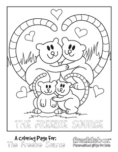 FREE Personalized Kids Coloring Pages (Printable)