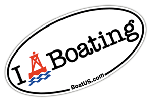 Free Boating Sticker