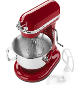 kitchen aid 6000 hd delta victorian faucet amazon: kitchenaid 6-qt. pro mixer – only $258.99 ...