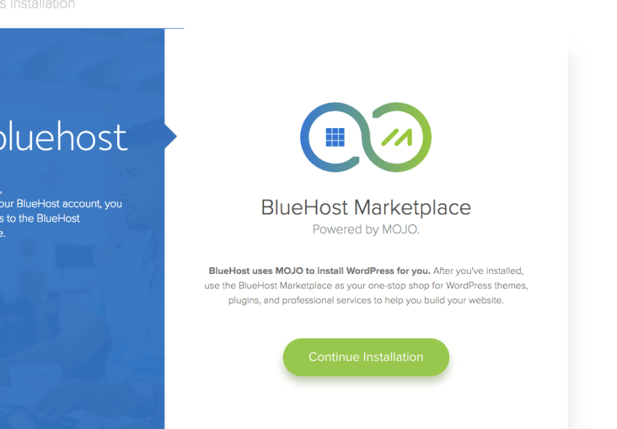 how to install wordpress and use Bluehost