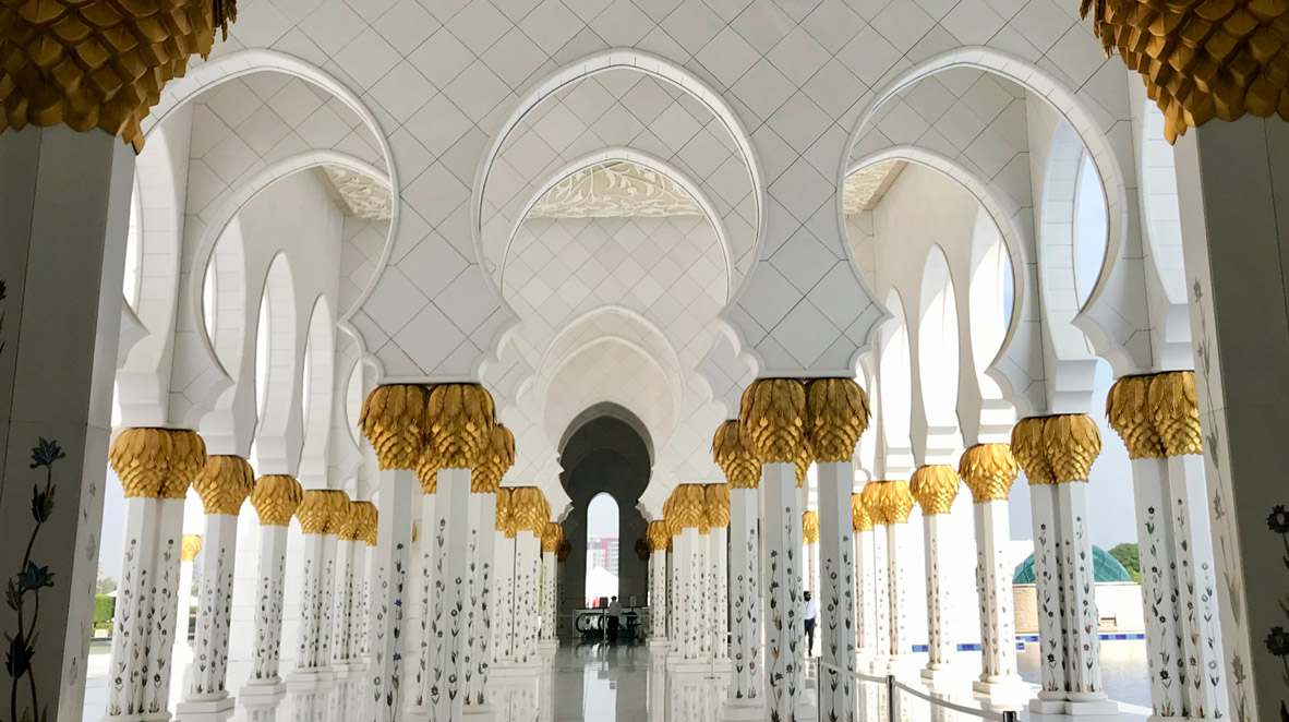 Wallpaper Hd Muslim The Sheikh Zayed Mosque In Abu Dhabi The French Jewelry