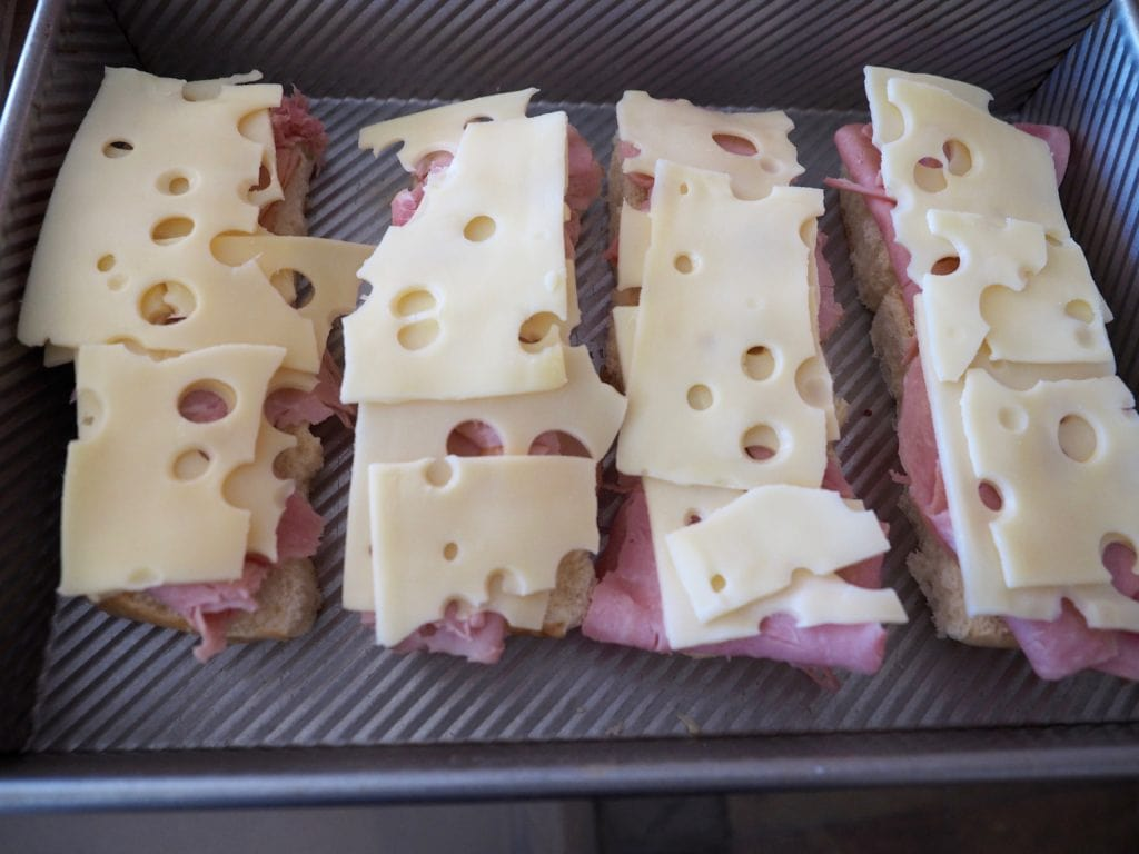Ham & Swiss Sliders | www.thefreshcooky.com