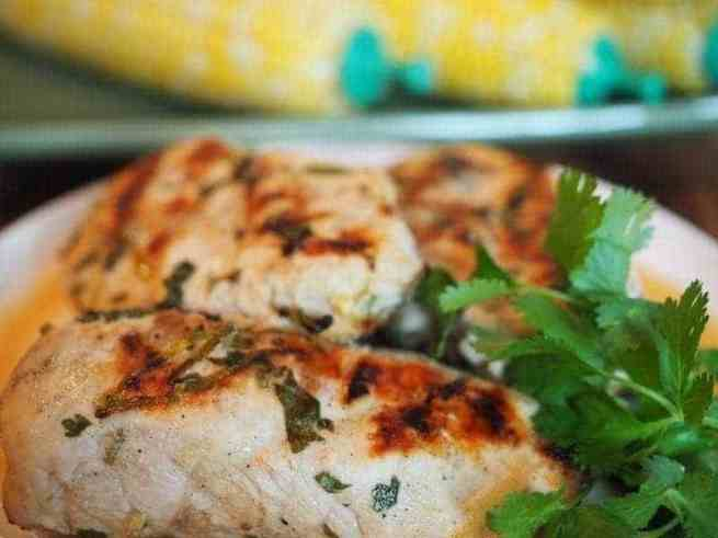 Coconut Lime Chicken   www.thefreshcooky.com