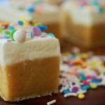 Sugar Cookie Bars & Bites