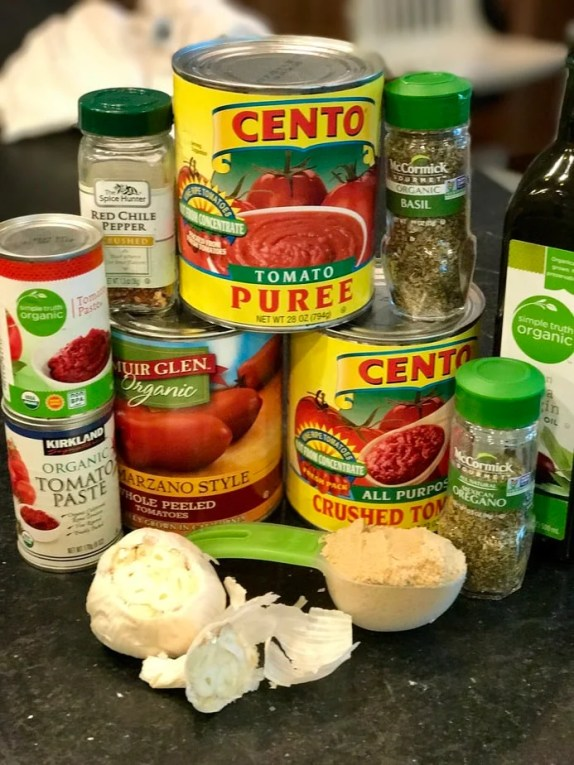 Grandpa Frank's Secret Spaghetti Sauce #thefreshcooky #spaghettisauce #redsauce #secret #familyrecipe
