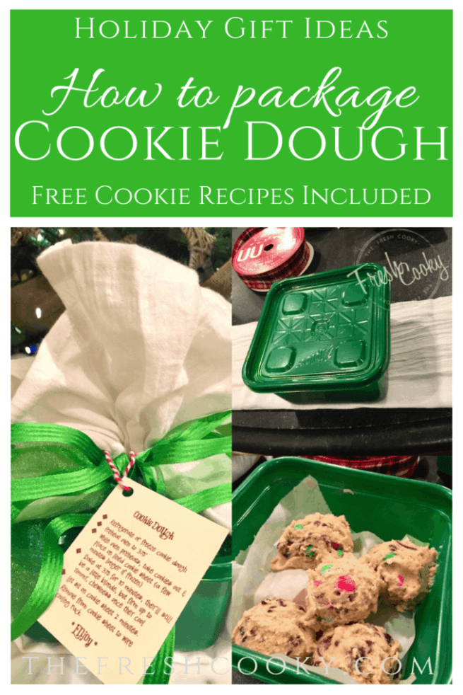 How to Package Cookie Dough | www.thefreshcooky.com