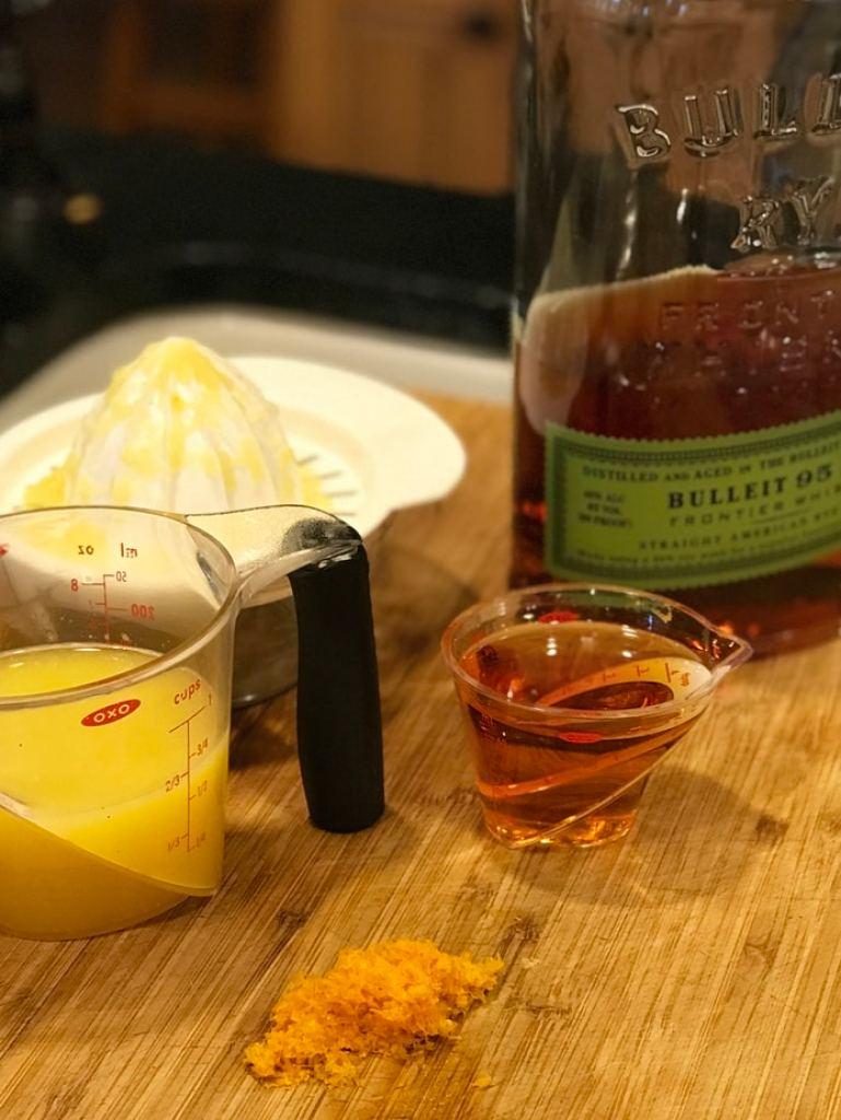 Orange Juice and Whiskey   Thanksgiving Praline Yams