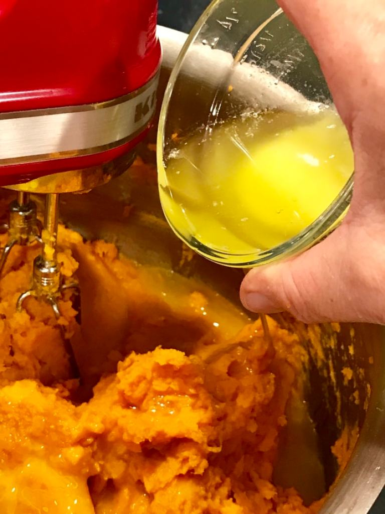 Melted Butter   Thanksgiving Praline Yams