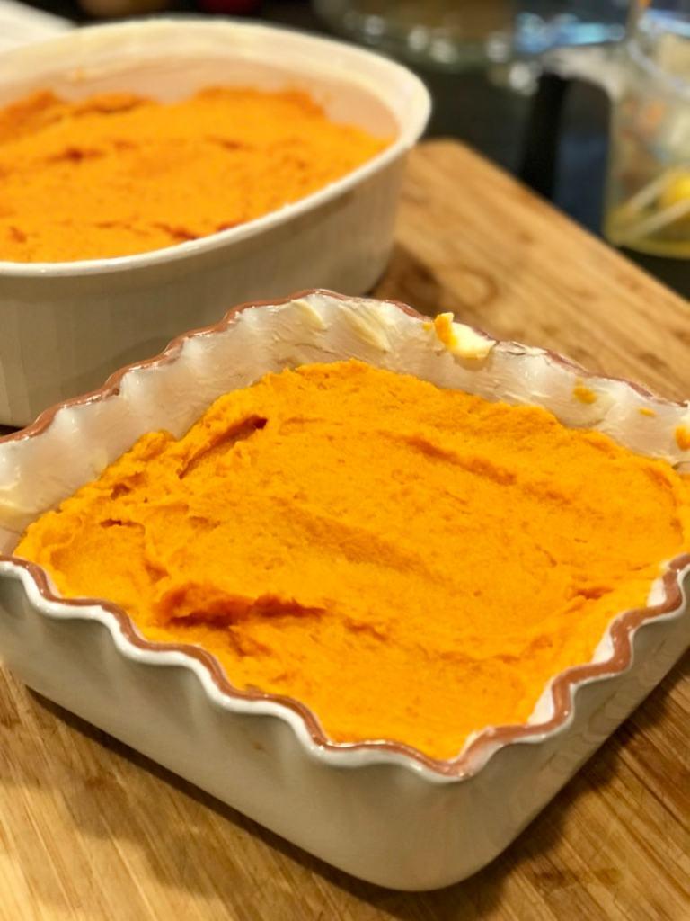 Yam Mixture | Thanksgiving Praline Yams