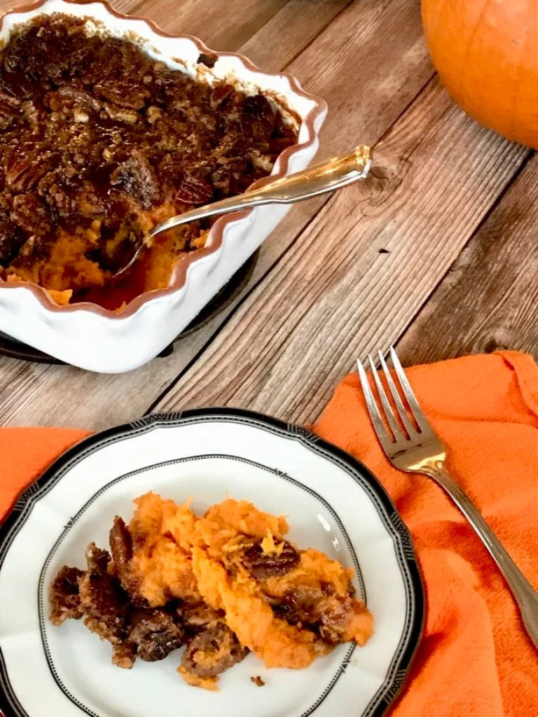 Thanksgiving Praline Yams