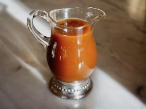 Bourbon Caramel Vanilla Sauce