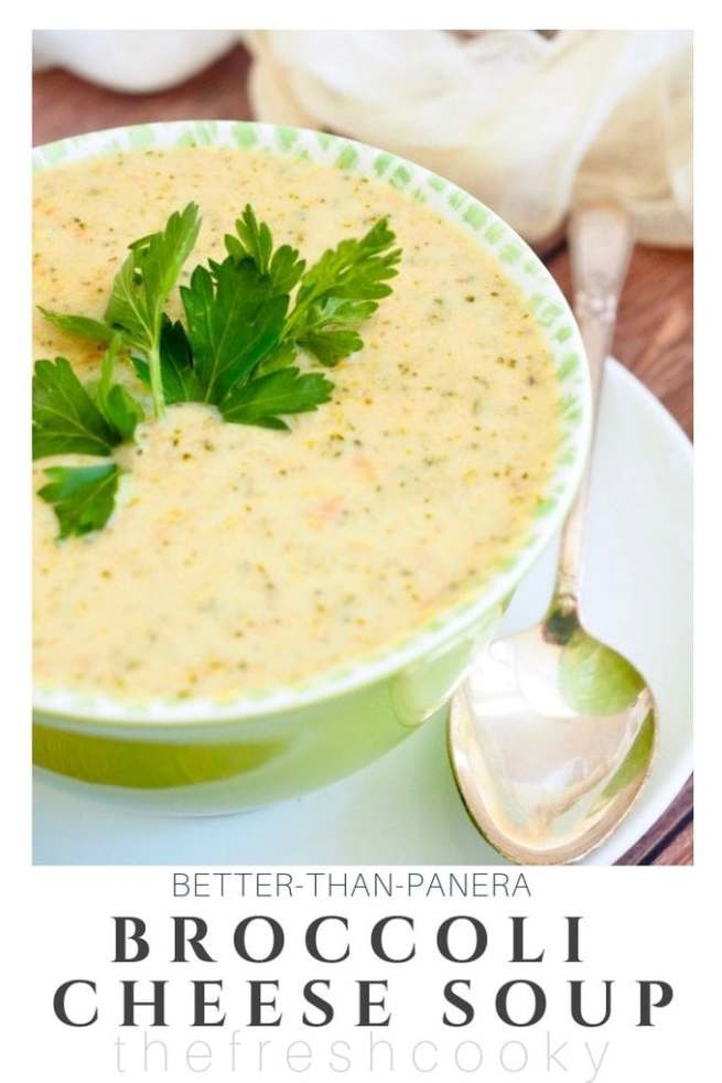 Broccoli Cheese Soup | www.thefreshcooky.com