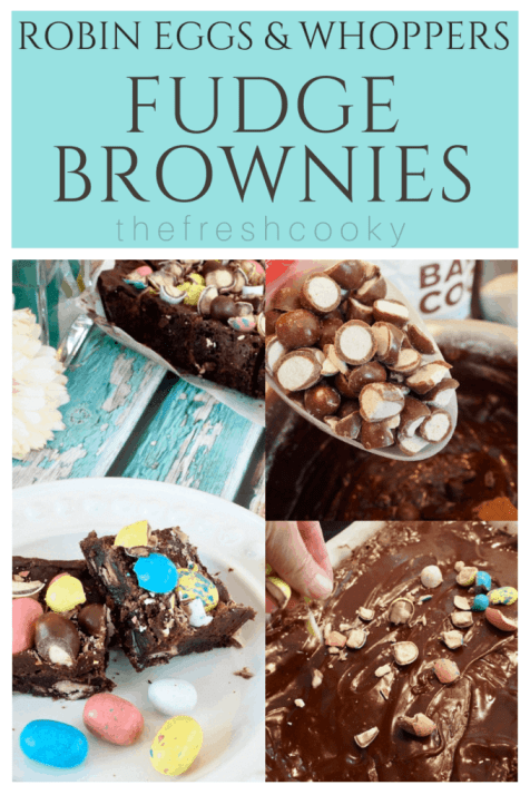 Whopper Brownies Malted Brownies | www.thefreshcooky.com